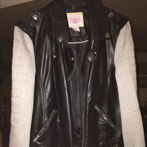 NWOT Faux Leather Jacket